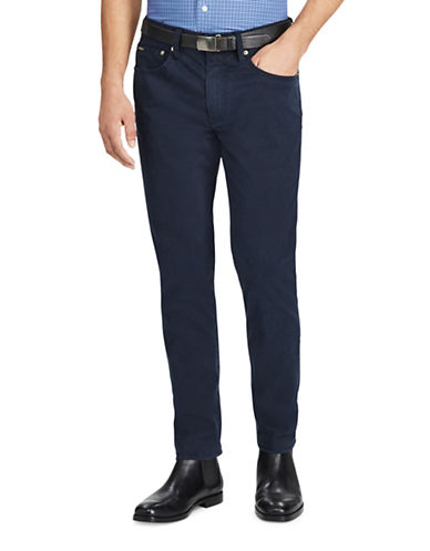Polo Ralph Lauren Varick Slim Straight Pants-NAVY-36X30
