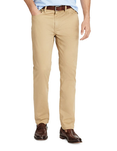 Polo Ralph Lauren Varick Slim Straight Pants-TAN-36X30