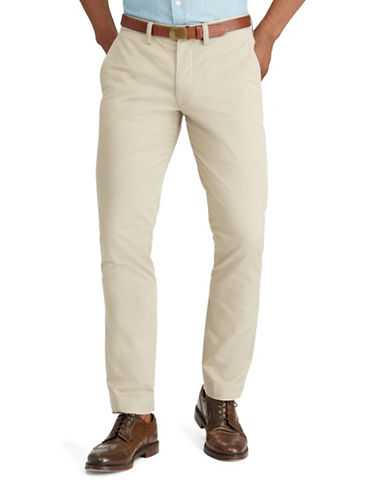 Polo Ralph Lauren Stretch Straight-Fit Chino Pants-KHAKI-40X30
