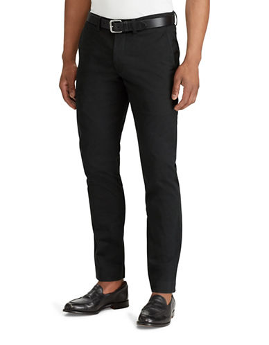 Polo Ralph Lauren Stretch Straight-Fit Chino Pants-POLO BLACK-38X30