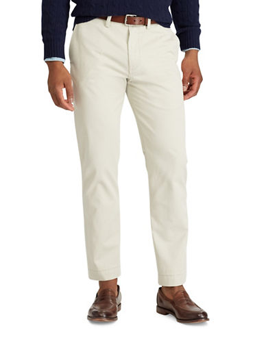 Polo Ralph Lauren Classic-Fit Cotton Chino Pants-STONE-40X30