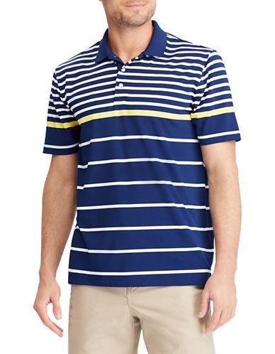 Chaps Striped Performance Polo Shirt-NAVY BLUE-Medium 89936849_NAVY BLUE_Medium