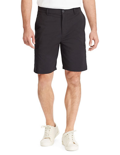 Chaps Performance Cargo Shorts-BLACK-36