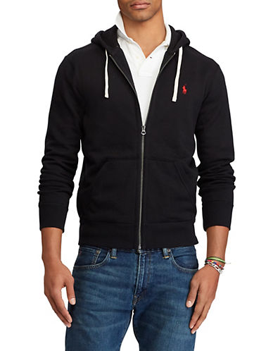 Polo Ralph Lauren Full-Zip Fleece Hoodie-POLO BLACK-XX-Large