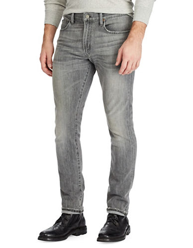 Polo Ralph Lauren Slim Stretch Jeans-GREY-30X30