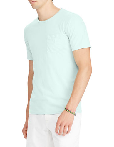 Polo Ralph Lauren Short Sleeve Cotton Tee-GREEN-X-Large