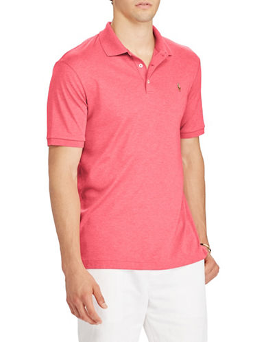 Polo Ralph Lauren Soft-Touch Cotton Polo-PINK-Small