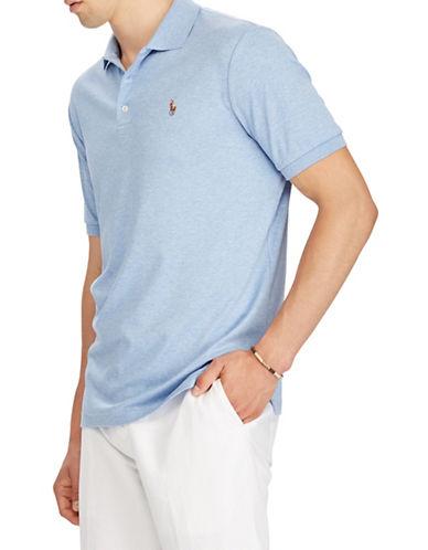 Polo Ralph Lauren Soft-Touch Cotton Polo-LIGHT BLUE-Large