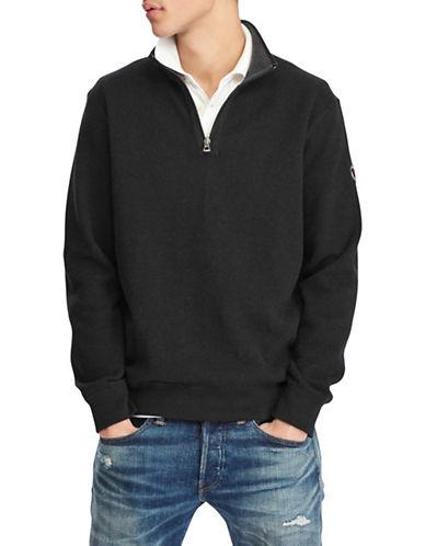 Reversible Estate-Rib Cotton Pullover | Hudson's Bay