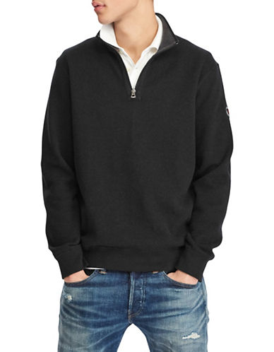 Reversible Estate-Rib Cotton Pullover | Hudson's Bay