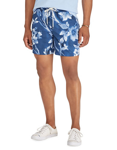Polo Ralph Lauren Traveler Swim Trunks-BLUE-XX-Large