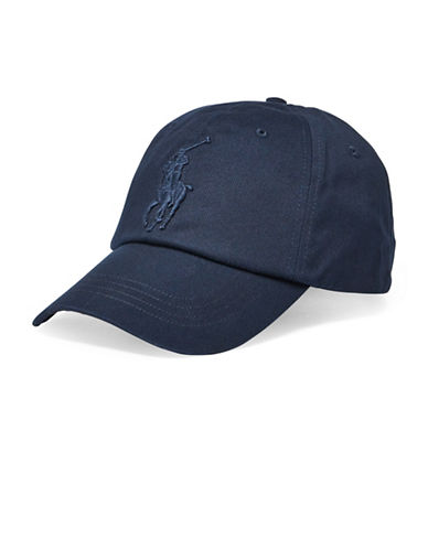 Polo Ralph Lauren Chino Baseball Cap-BLUE-One Size