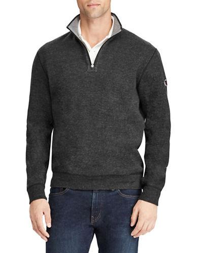 Polo Ralph Lauren Reversible Estate-Rib Pullover-BLACK-X-Large 89609404_BLACK_X-Large