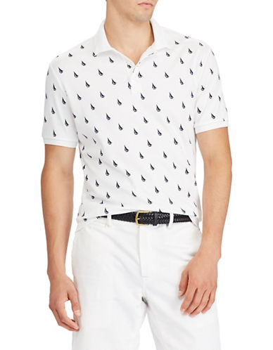 Polo Ralph Lauren Soft-Touch Cotton Polo-WHITE-Medium