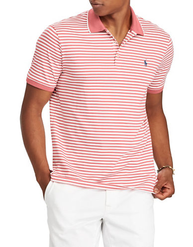 Polo Ralph Lauren Classic-Fit Cotton Polo-RED-Small
