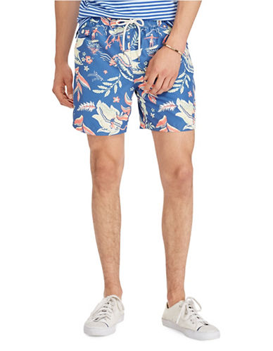 Polo Ralph Lauren Traveler Swim Trunks-GREEN-Large