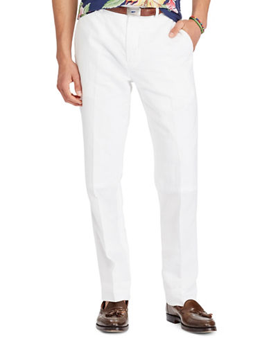 Polo Ralph Lauren Classic Fit Pants-WHITE-40X32