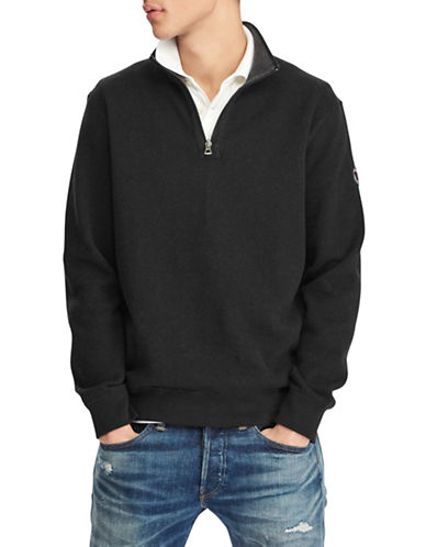 Polo Ralph Lauren Reversible Estate-Rib Pullover-BLACK-5X Tall