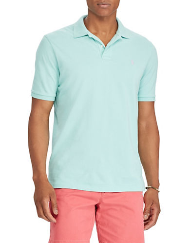 Polo Ralph Lauren Cotton Short Sleeve Polo-GREEN-Small