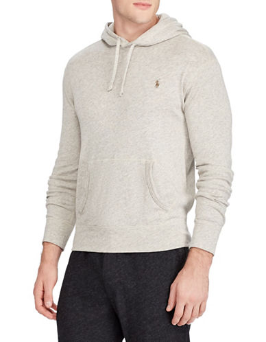 Polo Ralph Lauren Spa Terry Cotton Hoodie-NATURAL-Small
