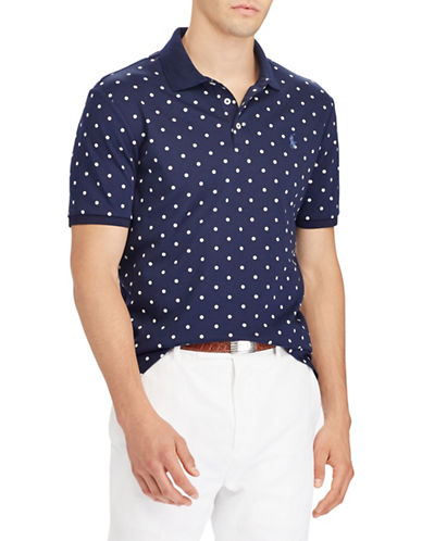 Polo Ralph Lauren Soft-Touch Cotton Polo-BLUE-Medium