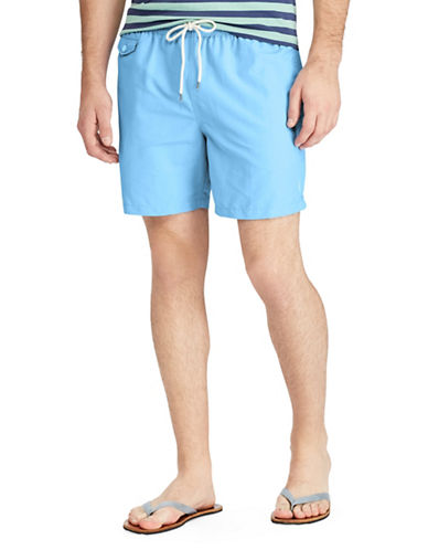 Polo Ralph Lauren Traveler Swim Trunks-BLUE-Small