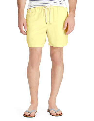 Polo Ralph Lauren Traveler Swim Trunks-GOLD-X-Large