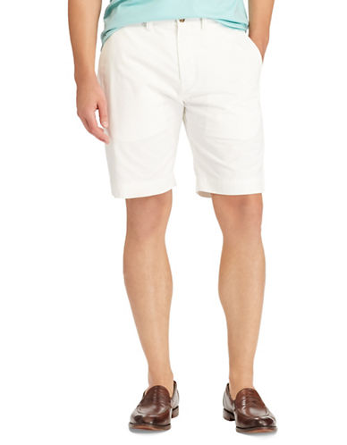 Polo Ralph Lauren Classic-Fit Stretch Short-WHITE-34