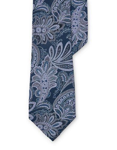 Lauren Ralph Lauren Paisley Silk Jacquard Tie-BLUE-One Size