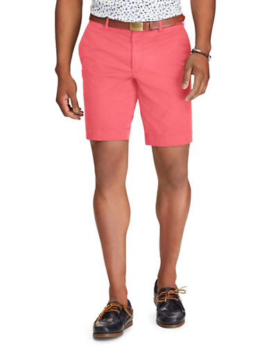 Polo Ralph Lauren Stretch Slim Fit Chino Shorts-NAVY BLUE-34