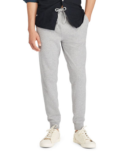 Polo Ralph Lauren Jersey Jogger Pants-GREY-X-Large
