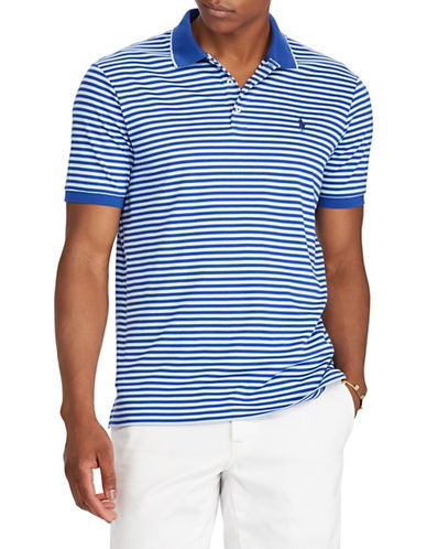 Polo Ralph Lauren Classic-Fit Cotton Polo-BLUE-XX-Large