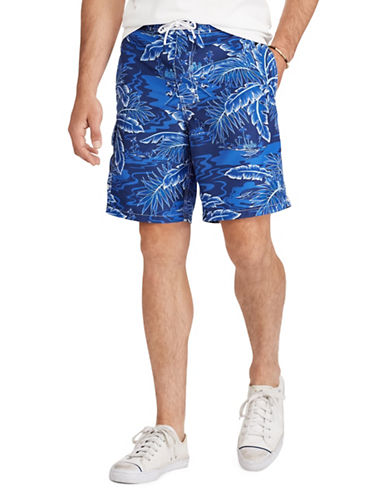 Polo Ralph Lauren Tropical Swim Trunk-BLUE-5X Big