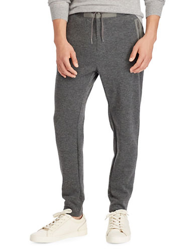 Polo Ralph Lauren Birdseye Jogger Pants-GREY-1X Tall