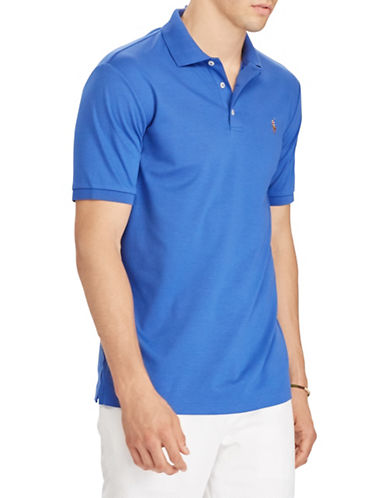 Polo Ralph Lauren Classic Fit Soft-Touch Cotton Polo-ROYAL BLUE-4X Big