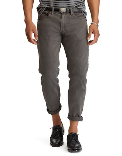 Polo Ralph Lauren Big & Tall Hampton Relaxed Straight Stretch Jeans-CHARCOAL-40X36 89738353_CHARCOAL_40X36