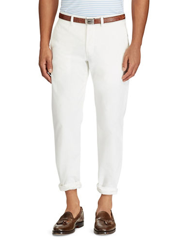Polo Ralph Lauren Stretch Straight-Fit Chino Pants-WHITE-34X32