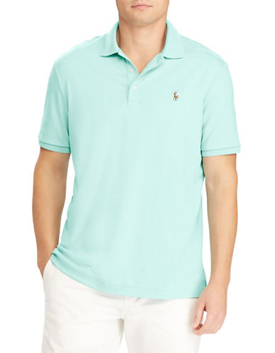 Polo Ralph Lauren Classic-Fit Cotton Polo-GREEN-X-Large
