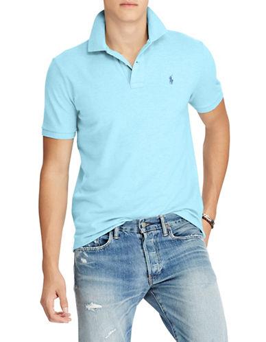 Polo Ralph Lauren Cotton Mesh Polo-BLUE-Large