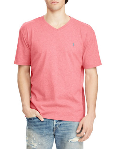 Polo Ralph Lauren Short Sleeve Cotton Tee-ORANGE-Large