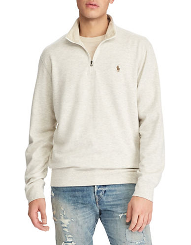 Polo Ralph Lauren Long Sleeve Pullover-GREY-Medium 89707021_GREY_Medium