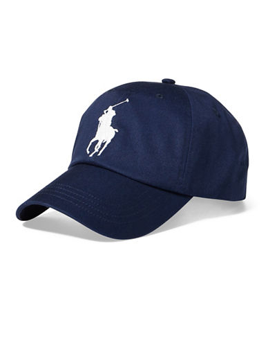 Polo Ralph Lauren Classic Chino Sports Cap-NAVY-One Size