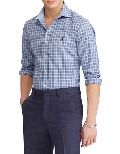 Polo Ralph Lauren Classic Fit Easy-Care Shirt-BLUE-Large