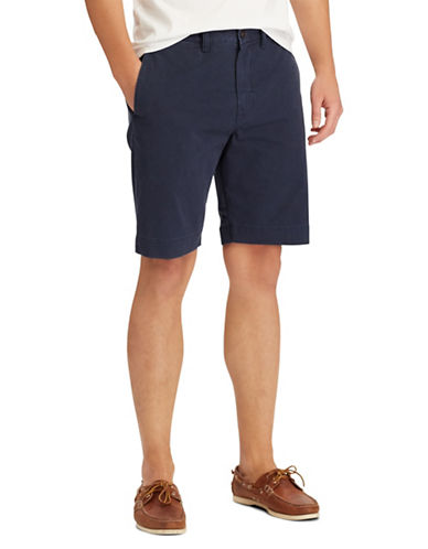 Polo Ralph Lauren Stretch Classic-Fit Shorts-BLUE-38 Tall