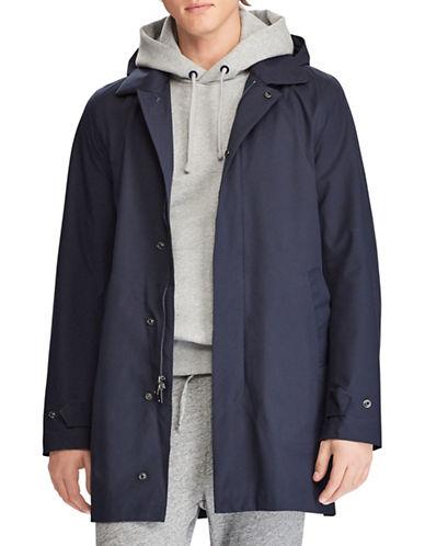 Polo Ralph Lauren Waterproof Twill Coat-NAVY-Medium