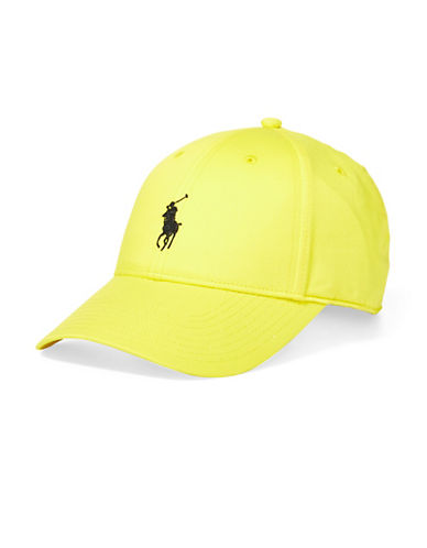 Polo Ralph Lauren Twill Sports Cap-YELLOW-One Size 90001558_YELLOW_One Size