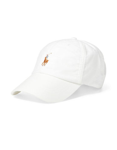 Polo Ralph Lauren Oxford Sports Cap-WHITE-One Size 89880961_WHITE_One Size