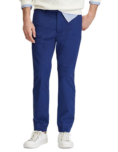 Polo Ralph Lauren Stretch Slim Fit Chino Pants-NAVY-40X30