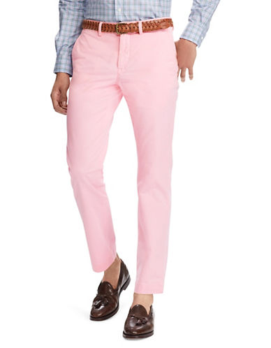 Polo Ralph Lauren Stretch Straight-Fit Chino Pants-PINK-34X32