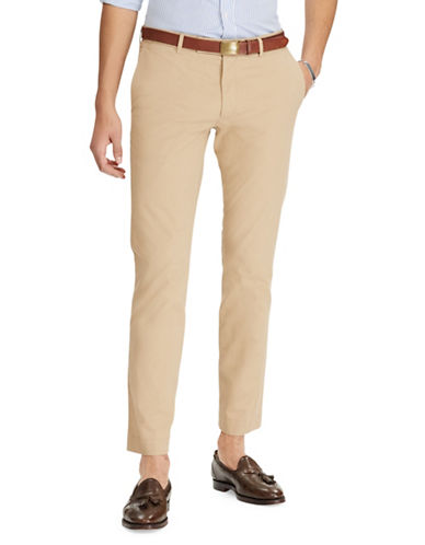 Polo Ralph Lauren Slim-Fit Stretch Chino-BEIGE-34X30